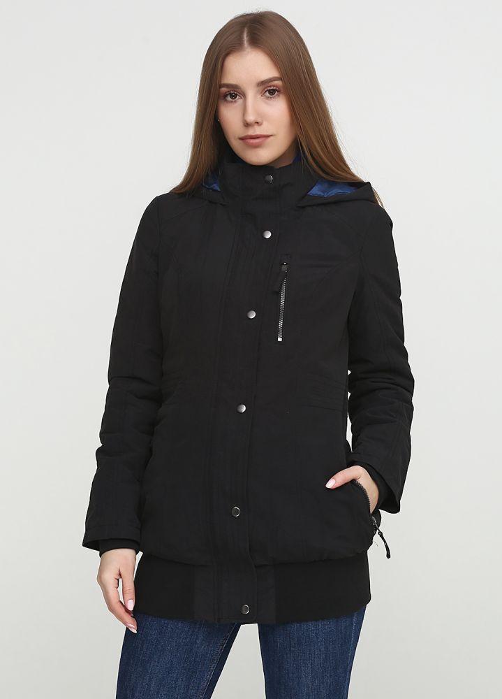 Куртка женская демисезонная Maleko черная