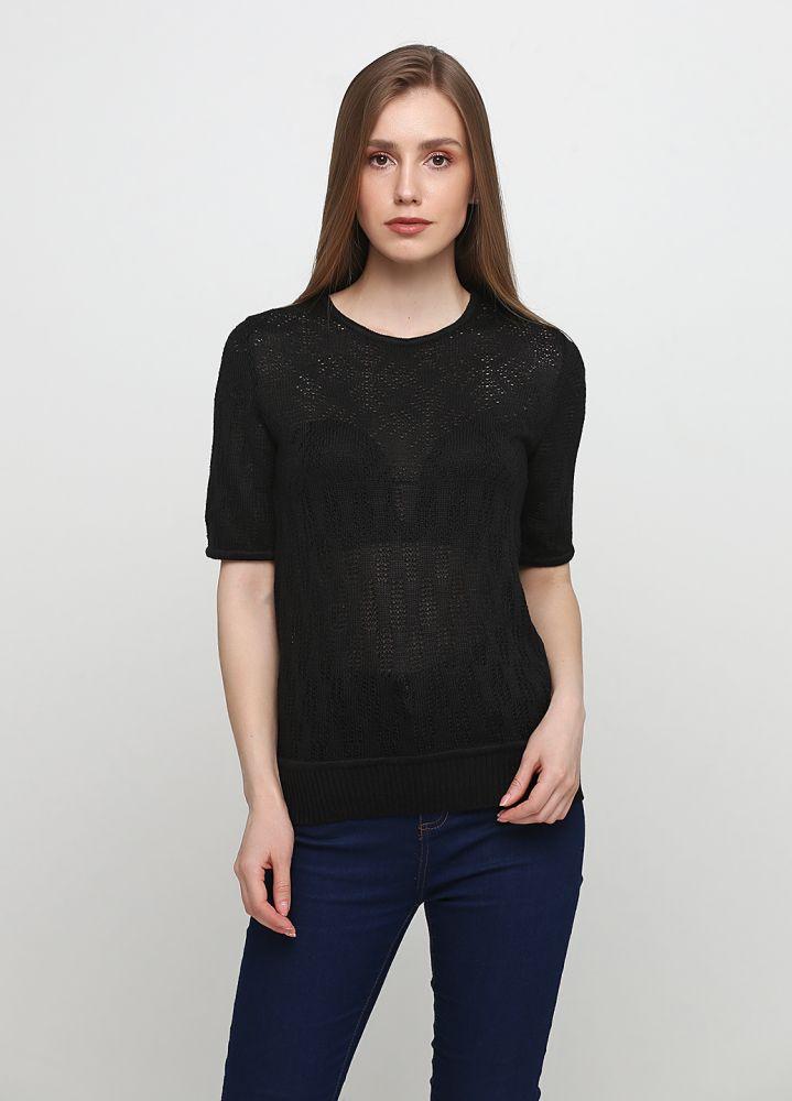 Блузка женская летняя черная Only Women