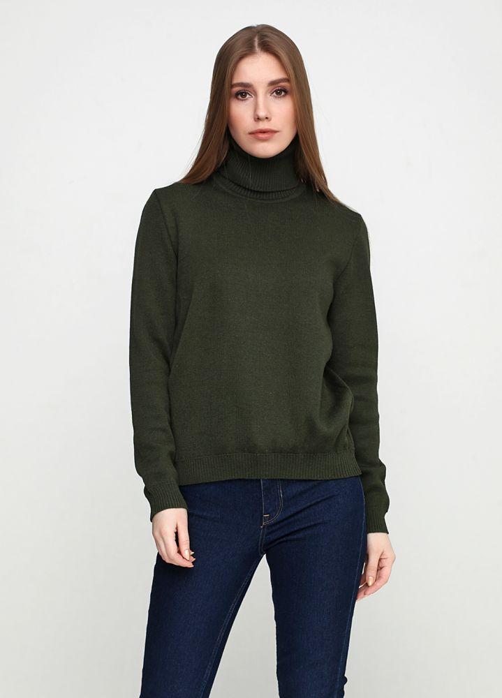 Гольф Only Women темно-зеленый