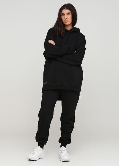 Брюки-джоггеры женские зимние Only Women черные