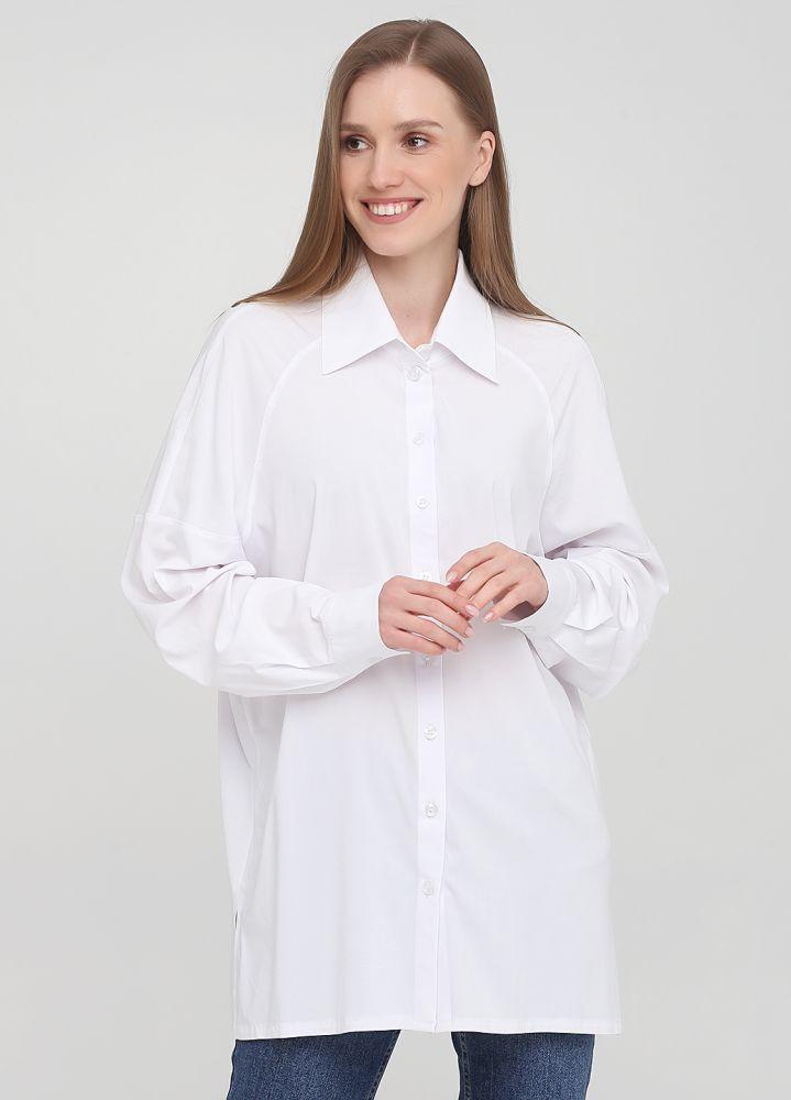Рубашка женская белая Only Women из вискозы